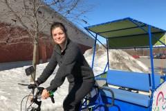 Les promenades en vélo pour les ainés de retour cette année