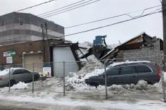 Deux effondrements de toits en moins d'une semaine à Montréal-Nord