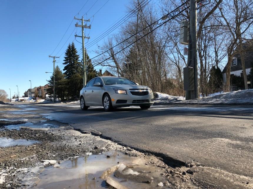 Gouin Est: la réfection de la «pire route du Québec» débutera en juillet