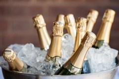 Du champagne tous les jours