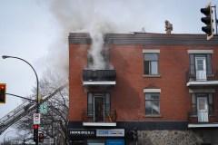 Un important incendie éclate dans Rosemont