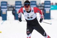Alex Harvey obtient l'argent à la poursuite de 15 km à Québec, derrière Klaebo