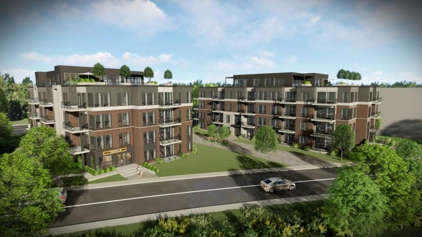 La hauteur du projet immobilier Le Marinier inquiète les résidents lachinois