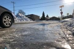 Les trottoirs glacés exaspèrent encore des citoyens de RDP-PAT