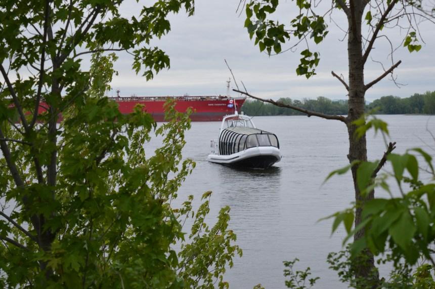 Premier départ de la navette fluviale le 17 juin