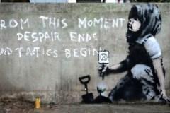 Banksy vient-il de s'engager pour la planète?