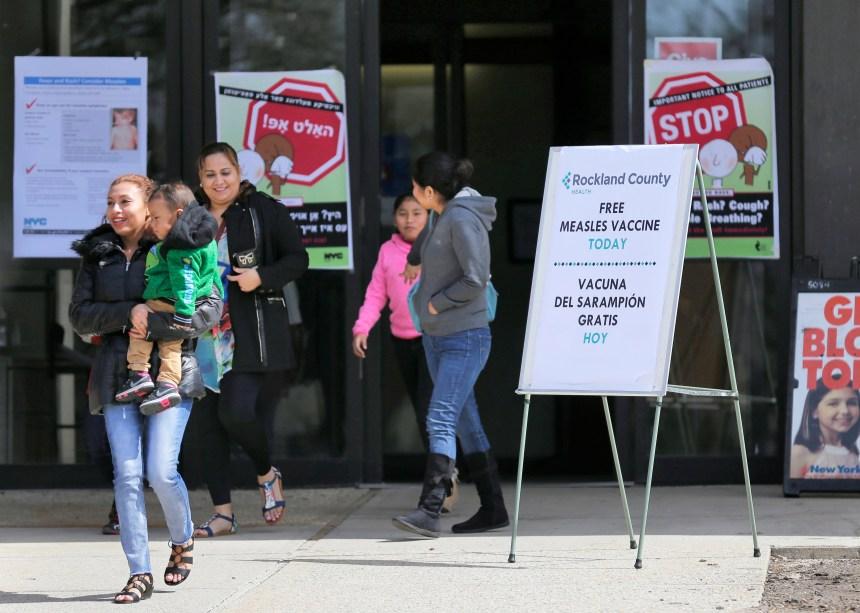 Épidémie de rougeole: New York déclare l'état d'urgence sanitaire