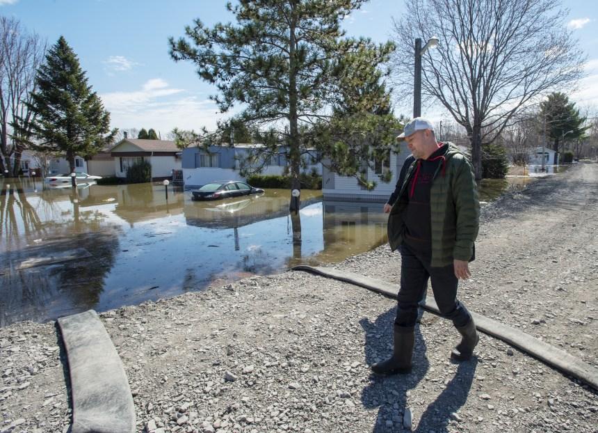 Pierrefonds: «Si on ne réparait pas la digue, on perdait 100 maisons»