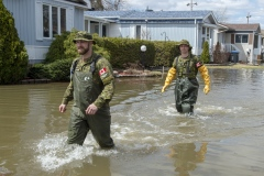 Inondations à Montréal: «Le pire est derrière nous»