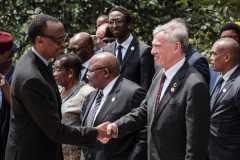 Le Rwanda uni comme une «famille», 25 ans après le génocide
