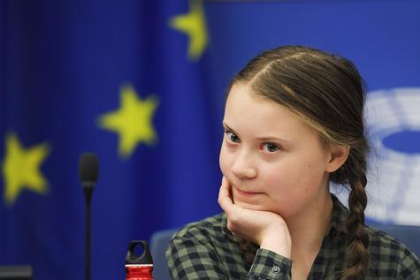 Climat: Greta Thunberg lance un appel à voter aux élections européennes