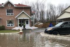 Inondations: l'eau va monter plus longtemps et plus haut que prévu