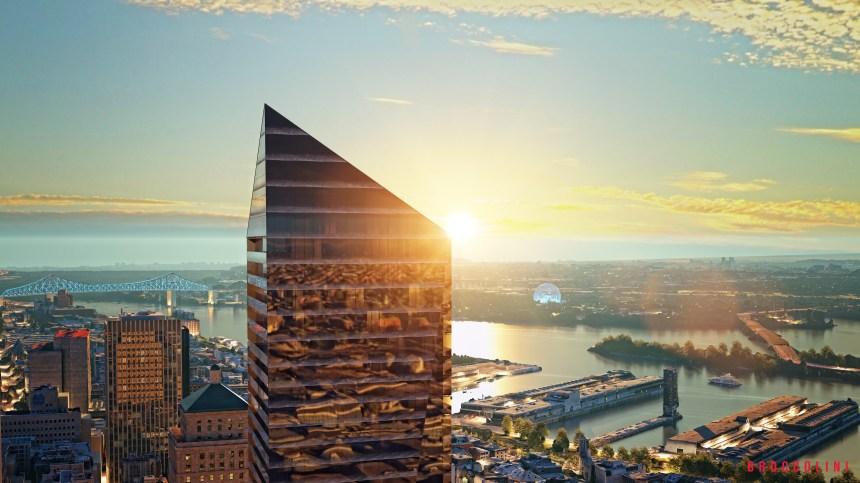 La plus haute tour résidentielle à Montréal n'aura pas de logements sociaux