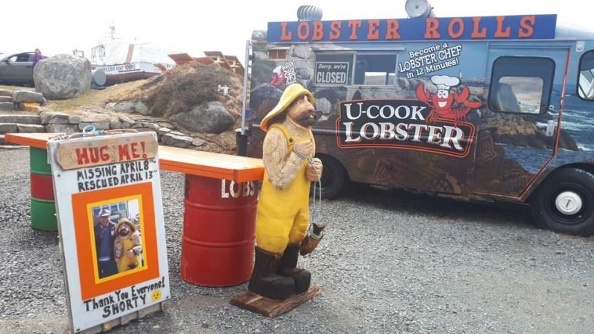 Une populaire statue de Peggy's Cove a été retrouvée