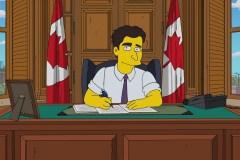 Justin Trudeau fera une «apparition» dans le prochain épisode des «Simpson»