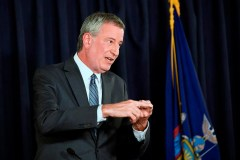 Le maire de New York veut un contrat avec Hydro-Québec d'ici 2020