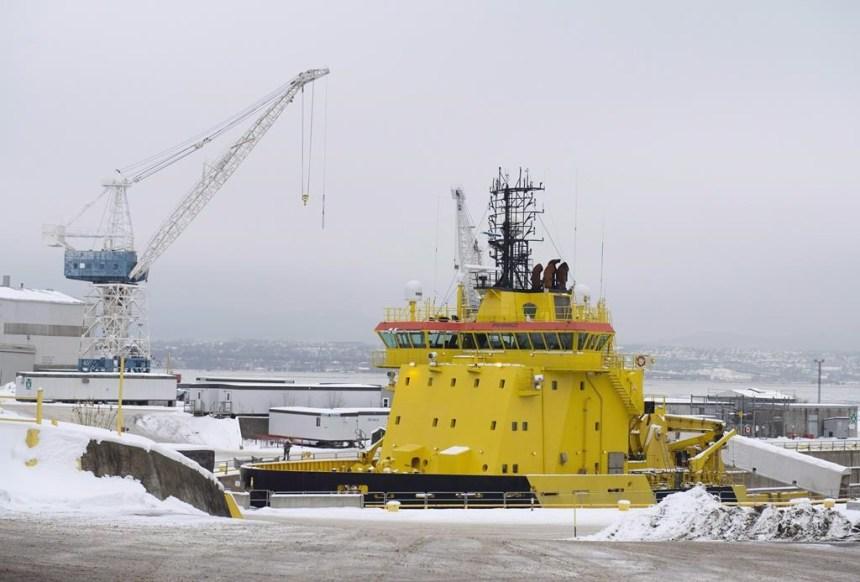 Davie doit construire deux nouveaux traversiers pour Transports Canada