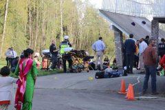 Une terrasse s'effondre en Colombie-Britannique et fait plusieurs blessés