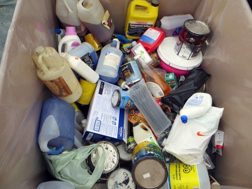 Collecte de résidus non-recyclables à Dorval
