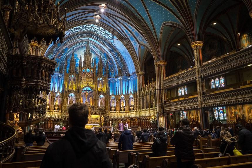 Notre-Dame de Paris: l'archevêque de Montréal a célébré une messe de solidarité
