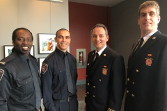 Les Pompiers veulent recruter des jeunes de Montréal-Nord