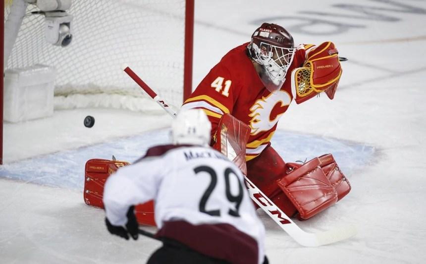 MacKinnon et l'Avalanche éteignent les Flames et prennent les devants 2-1