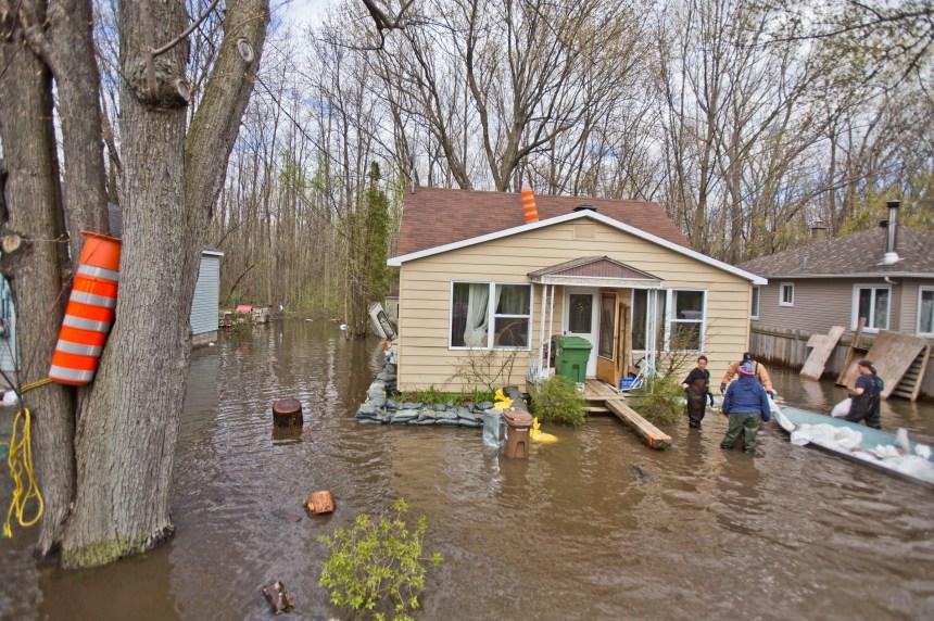 Inondations à Montréal: la vigilance est toujours de mise