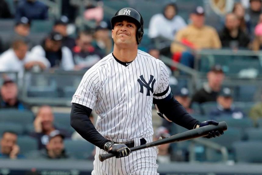 Les Yankees seront privés de Giancarlo Stanton pour au moins 10 jours