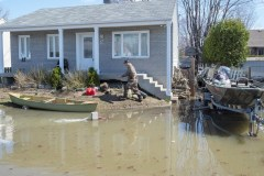 Inondations: la rivière Richelieu inquiète alors que le bilan cumulatif s'alourdit