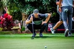 Dustin Johnson prend la tête du classement du tournoi RBC Heritage