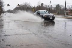 La crue des eaux provoque la fermeture de 35 routes au Nouevau-Brunswick