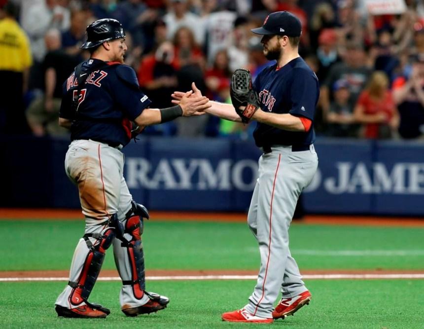 Betts et Moreland s'illustrent en fin de match et aident les Red Sox à l'emporter