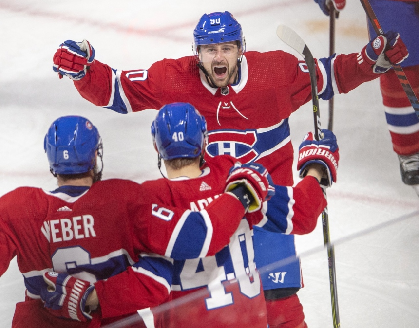 Le Canadien l'emporte 4-2 face au Lightning