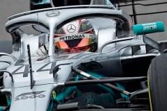F1: Lewis Hamilton réalise le meilleur temps de la 1ère séance d'essais libres