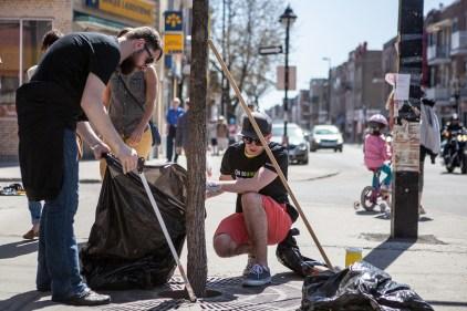 Le grand nettoyage du printemps s'amorce dans Rosemont