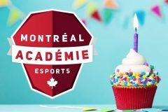 Premier anniversaire pour l'Académie Esports de Montréal