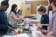 La cuisine pour faciliter la transition du primaire au secondaire