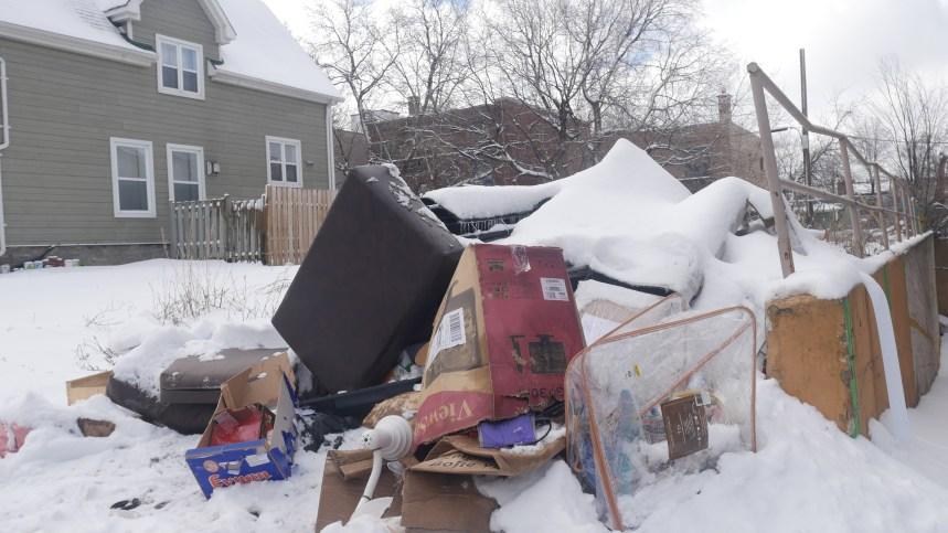 Des résidents en ont assez des déchets