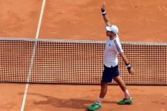 ATP: Lajovic vient de l'arrière et bat Medvedev en demi-finale à Monte-Carlo