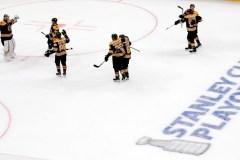 Grâce à un gain de 5-1, les Bruins éliminent les Maple Leafs