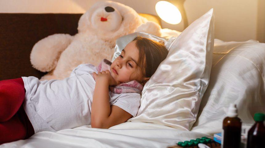 Les enfants de moins de 10 ans davantage frappés par la grippe cette année