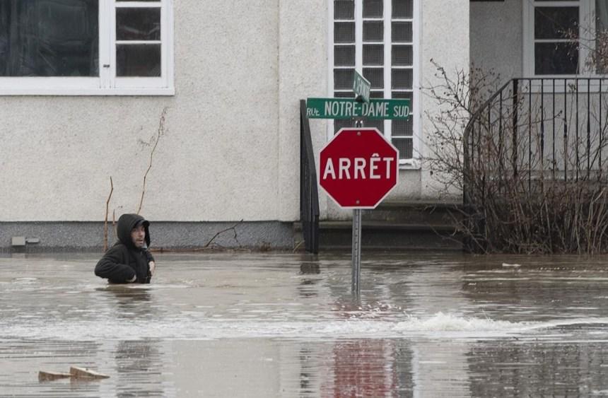 Zone inondable: l'Ouest de l'Île s'insurge contre la nouvelle carte malgré les changements