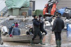 Inondations au Québec: le nombre de sinistrés augmente toujours, mais la pointe approche