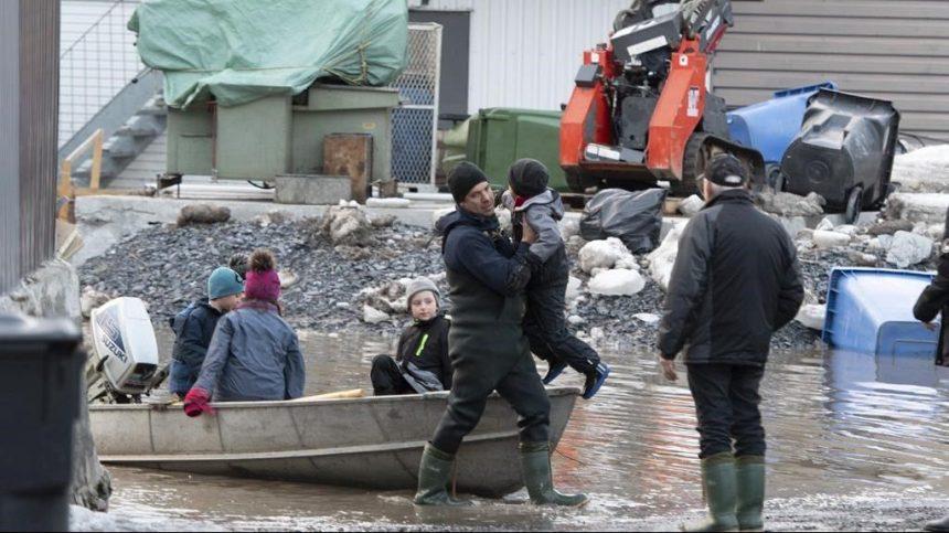 Inondations: le nombre de sinistrés commence à diminuer à l'échelle provinciale