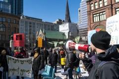 Une manifestation pour dénoncer la hausse des tarifs d'Hydro-Québec
