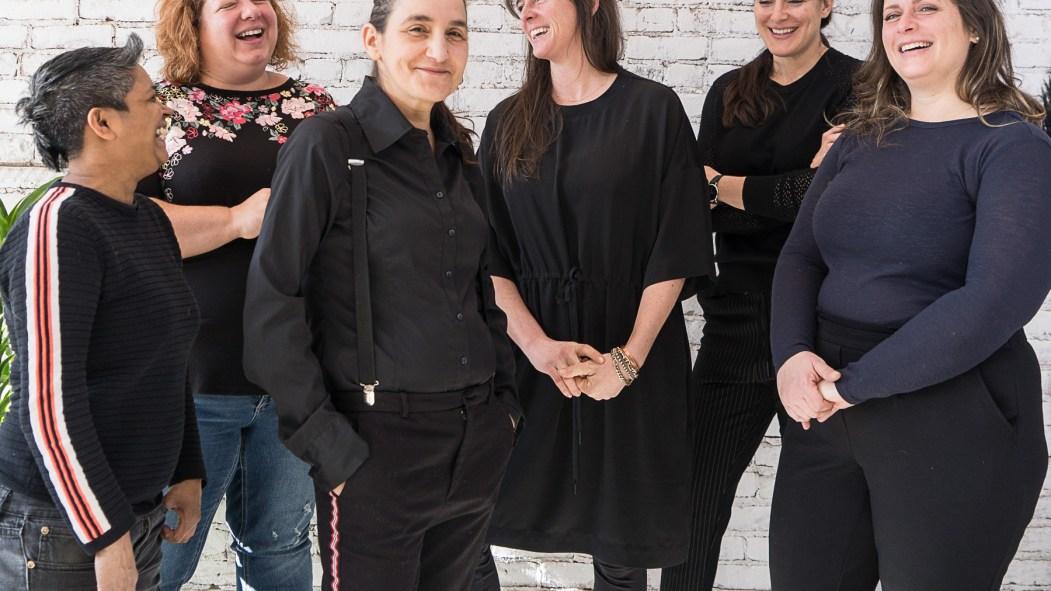 Karina Hammond, Ariane Beaumont, Nathalie Morand, Tania Perreault, Tania Morrison, Catherine Bélanger.
