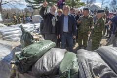 Inondations: le ministre Champagne rappelle qu'Ottawa attend les projets