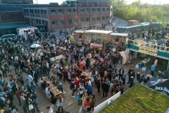 Terrasse festive et entrepreneuriale dans le Mile-End
