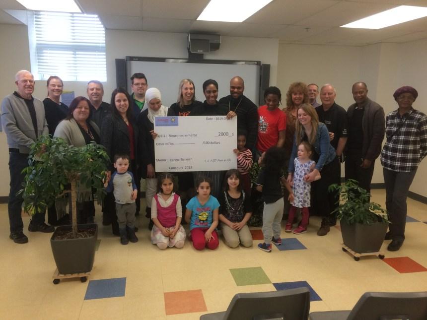 Concours « Que ferais-tu avec 2000$ pour les tout-petits? » : un projet d'ateliers sur le cerveau remporte la palme