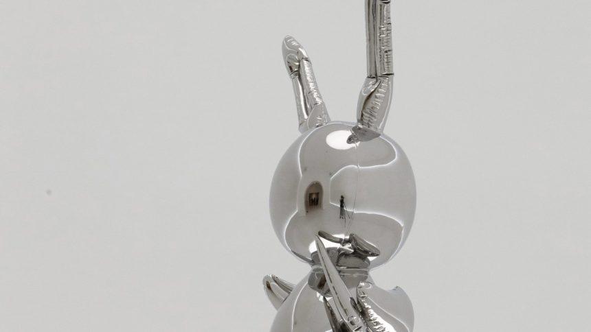 Vente record pour un lapin de Jeff Koons